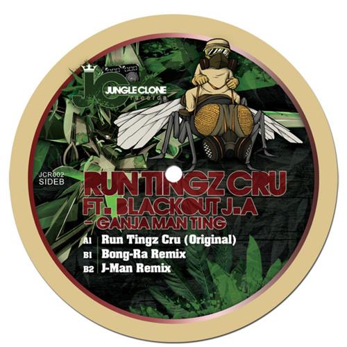 Ganja Man Ting (Bong-Ra Remix) - Run Tingz Cru ft. Blackout J.A [JCR002]