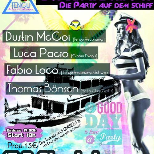 Dustin McCoi @ Sunset Beatboat 15.09.12