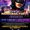 *MASQUERADE PARTY II TUESDAY NIGHT JAN-1st-2013*NEW YEARS DAY* @ MARIO'S BOWLING PALACE.