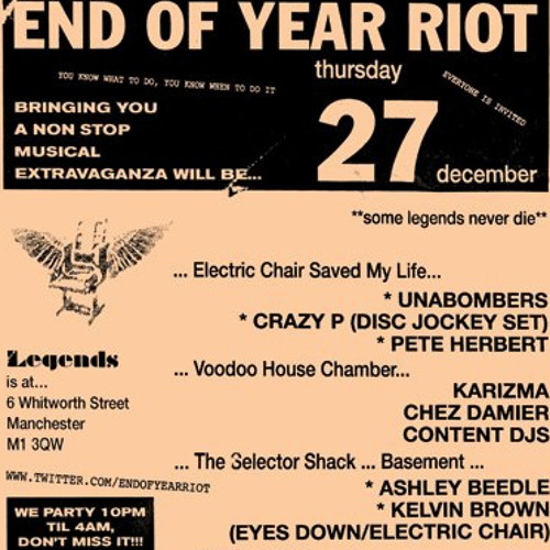 PETE HERBERT - END OF YEAR RIOT PARTY 2012 MIX