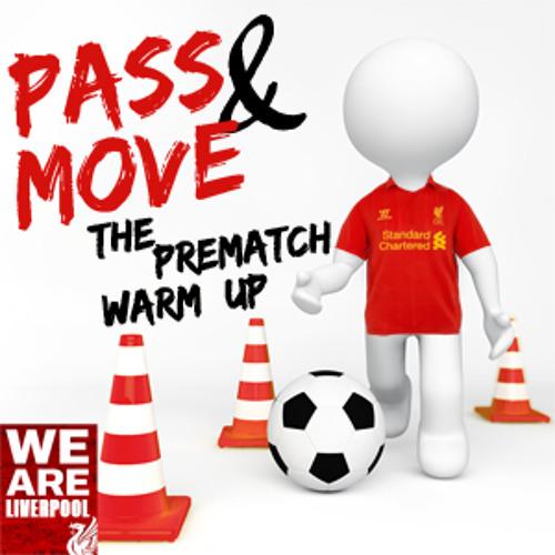 Pass And Move - The Pre Match Warm Up - Liverpool v Aston Villa