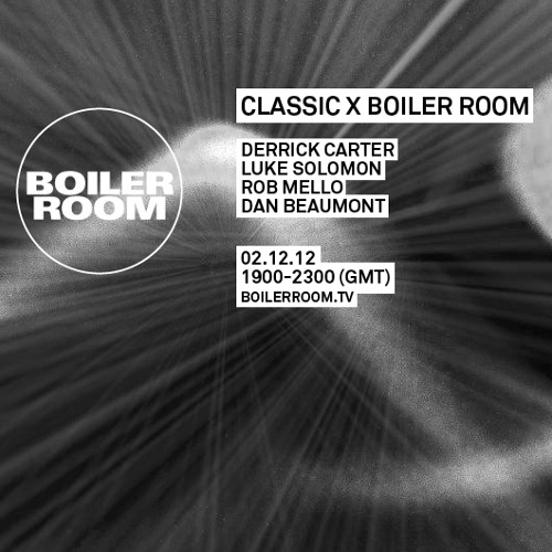 Derrick Carter Boiler Room Mix