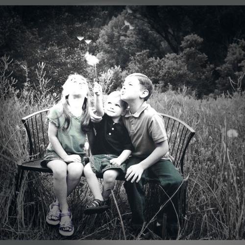 THE ASSOCIATION -  CHILDREN  PLAY IN DANDELION FIELDS