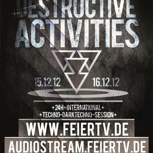 Stanley Dixon @ Destructive Activities 15.12.2012