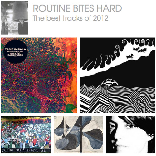 The Best tracks of 2012