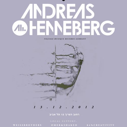 Andreas Henneberg at Wild Bunch - Tel Aviv Israel
