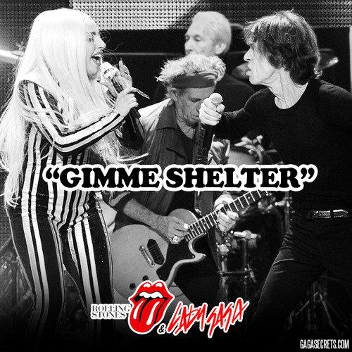 Rolling Stones and Lady Gaga - Gimme Shelter (HQ)