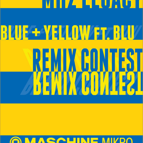 SSC 86 °°° MHz LEGACY - YELLOW AND BLUE feat BLU REMIX