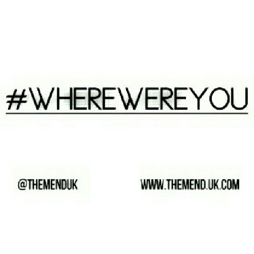 The Mend - Where Were You