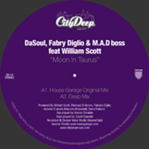 DaSouL, Fabry Diglio & MAD bos - Moon In Taurus (Halo & Jamie Thinnes ft Rocco Revisited Vocal)