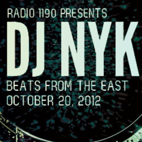 BeatsFromTheEast Oct 20th Ft DJ NYK!