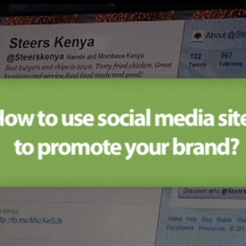How to use social media site to promote your brand