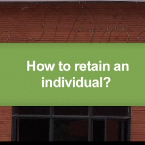 How to retain an individual