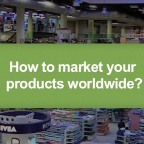 How to market your products worldwide