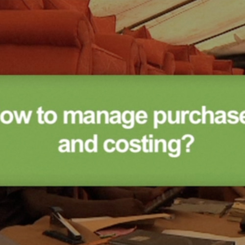 How to manage purchases and costing