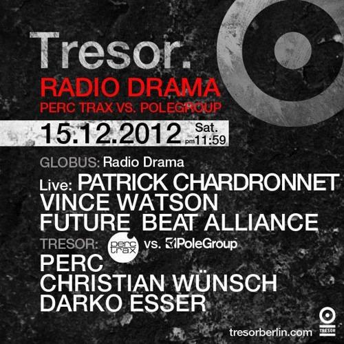 Darko Esser @ Tresor, Berlin 15-12-2012