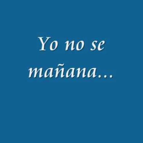 Yo no se (Unmastered)