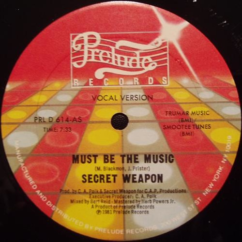 Secret Weapon - Must Be The Music (Florent F Reedit)