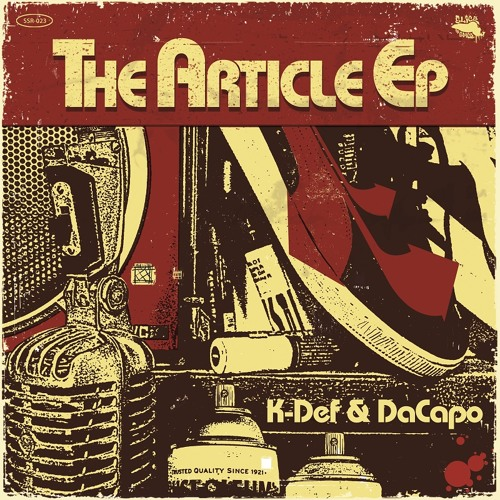 K-Def & DaCapo - The Article EP (Vocal EP Sampler Snippets)