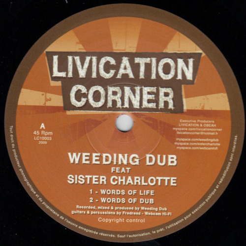 Weeding Dub feat. Sister Charlotte - Words of Life