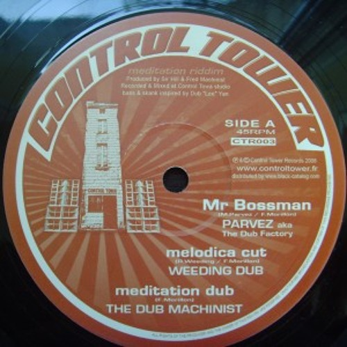 WEEDINGDUB meets The Dub Machinist - Mr Bossman melodica cut