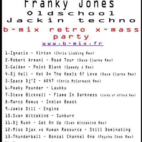 FRANKY JONES  'OLDSCHOOL JACKIN TECHNO SET'  25.12.12