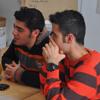 Ehsan und Sina zu Musik