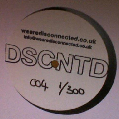 """Gift of a Patient Soul - Title track from Disconnected Sounds 004 12"""" EP."""