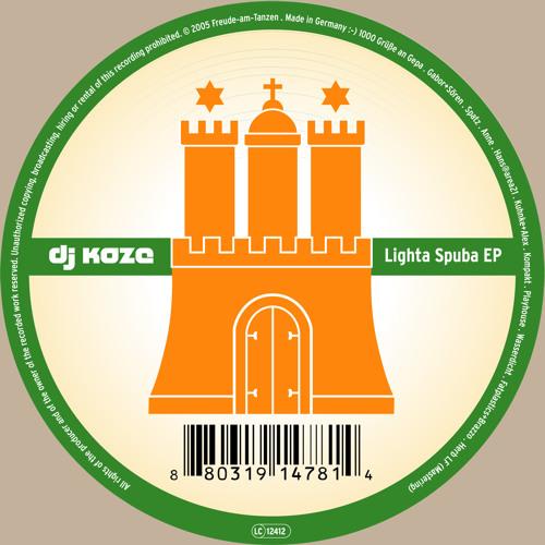 FAT 022 - DJ Koze - Lighta Spuba EP