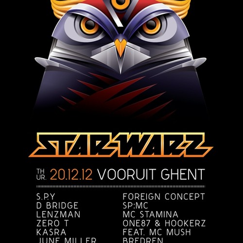 Kasra & Foreign Concept | Star Warz Dec 2012 | Promo Mix