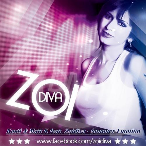 Kosti aka Itsok & Matt K feat. Zoidiva Penyez  - Summer Emotion (Original Mix)