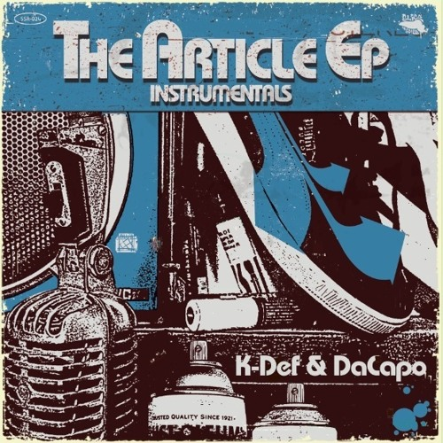 K-Def & Da Capo - The Article EP (Instrumental Sampler Snippets)