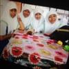 time raya di sch.. sarah,haiza,jeerah&neesha :) at School
