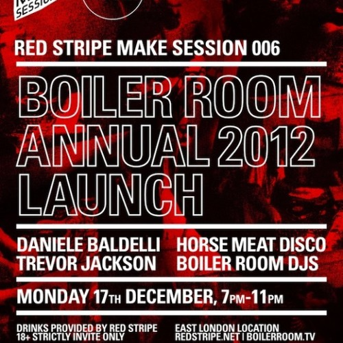 Trevor Jackson 60 min Boiler Room x Red Stripe Make Sessions Mix