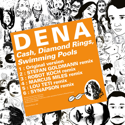 "D E N A - ""Cash, Diamond Rings, Swimming Pools"" Minimix"