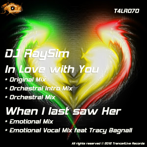 DJ RaySim - in Love with You / When i last saw her - (Out Now!)