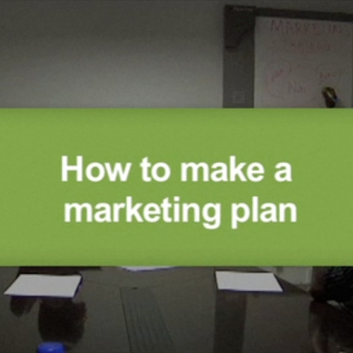 How to make a marketing plan