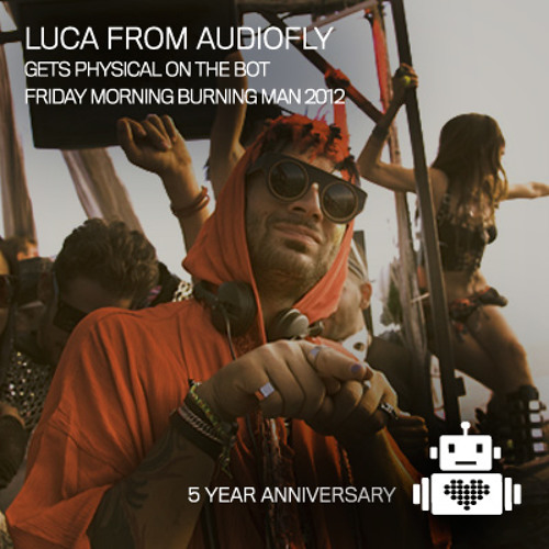 Audiofly (Luca) - Robot Heart - Burning Man 2012