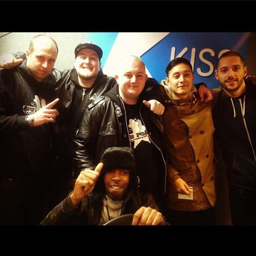 Dub Police Takeover KissFM - December 2012