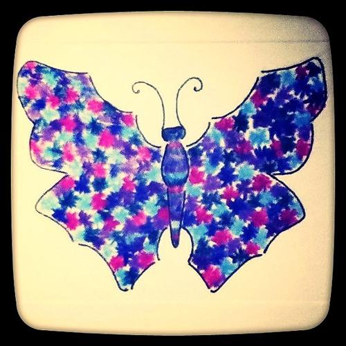 Nori - Fluttering conscious of a butterfly