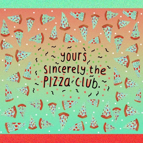 yours sincerely, the pizza club - holiday armadillo.