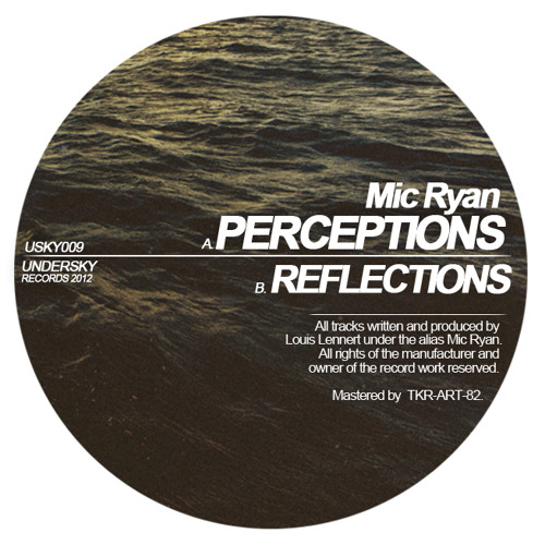 [USKY009] Mic Ryan - Perceptions // Reflections