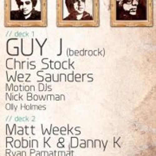Live @ ES Guy J boat party 28th Jan 2012