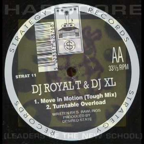 DJ Royal T & DJ XL - Turntable Overload (Schoco goes this way remix) [FREE D\L - Remastered]