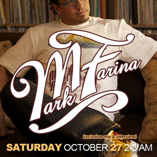 PrototypeRadio 039: Mark Farina - Exclusive interview and set! - 10/27/12