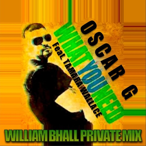 Oscar G Feat. Tamara Wallace - What You Need  (William Bhall Private Mix)