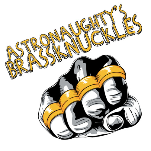 AKIRA AS ASTRONAUGHTY- BRASS KNUCKLES
