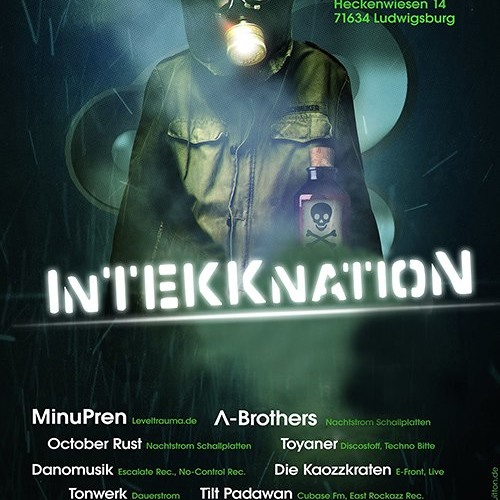 Danomusik @ InTekknation Club 29.09.2012 (Four Runners Club, Ludwigsburg)