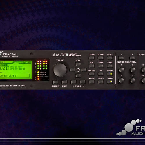 Axe-FX II FW9.01 Test 2