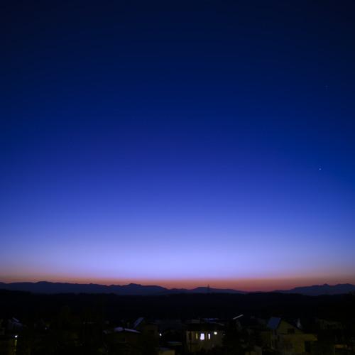 冬の夜空 demo / The night sky of winter demo